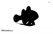 Clip Art Clown Fish Silhouette
