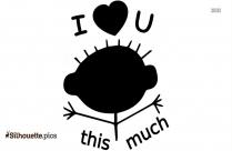 Clip Art Love Cartoon Silhouette