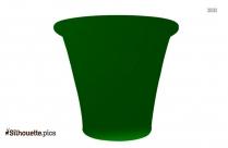Pottery Silhouette Clip Art Image