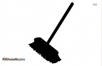 Clipart Broom Silhouette