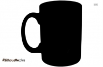 Teacups And Saucers Teaware Illustrtion Silhouette