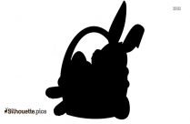 Easter Bunny Silhouette Images,Pictures