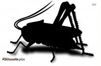 Clipart Grasshopper Silhouette