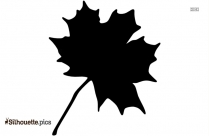 Clipart Leaf Maple Silhouette