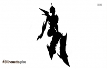 Fortnite Xbox Skin Hero Clipart Silhouette
