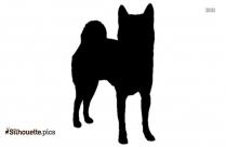 Shiba Inu Dog Breeds Silhouette