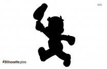 Free Johnny Bravo Silhouette