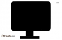Clipart Plasma Tv Screen Silhouette