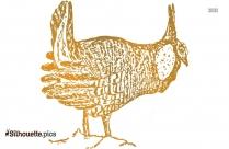 Clipart Prairiechicken Silhouette