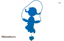 Jumping Fish Clip Art Silhouette
