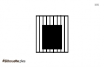 Clipart Zoo Cage Gate Silhouette