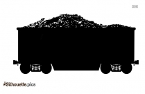 Coal Car Silhouette