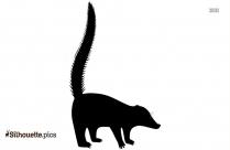 Coati Animal Silhouette