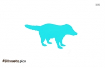 American Staffordshire Terrier Dog Silhouette Image