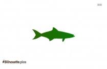 Nurse Shark Silhouette Free Vector Art