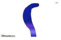 Reptile Silhouette, Iguana Clip Art Image