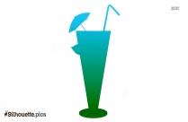Cocktail Drink Silhouette Download For Free