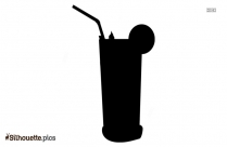Cocktail Drink Silhouette Picture