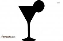 Cocktail Clip Art Silhouette