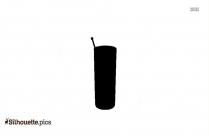 Black And White Cuba Libre Silhouette
