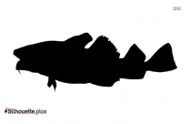Jack Fish Silhouette Background