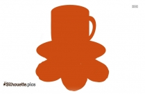 Coffee Cup Clip Art Silhouette