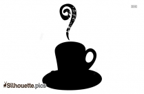Coffee Cup Silhouette Cafe