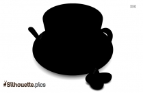 Coffee Cup Silhouette Coffee Bean
