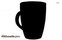 Coffee Cup Silhouette Illustration
