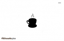 Coffee Cup Silhouette Picture For Free Download