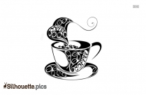 Coffee Cup Silhouette Teacup