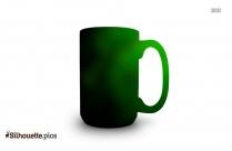Coffee Mug Clip Art Image Silhouette