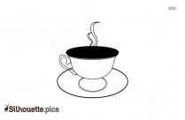 Coffee Cup Silhouette Artistic
