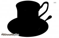 Coffee Cup Silhouette Sketches