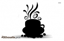 Coffee Cup Silhouette Vector Png