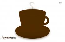 Coffee Mug Silhouette Clipart Image