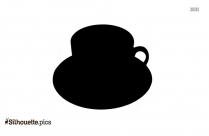 Hot Coffee Silhouette Icon