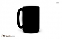 Coffee Mug Silhouette Illustration Vector
