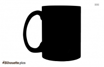 Coffee Mug Silhouette Illustration Vector Clipart