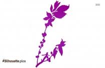 Flower Pot Clipart Silhouette Image