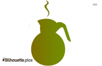 Coffee Pot Clipart Silhouette