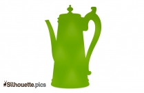 Coffee Pot Silhouette Clip Art