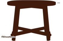 Plank Table Silhouette
