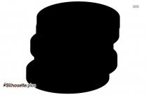 Gray Whale Clip Art Vector Silhouette