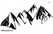 Free Mountain Clipart Silhouette