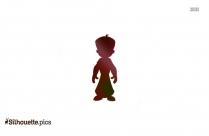 Cartoon Chota Bheem Silhouette