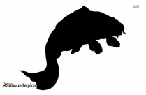 Fish Drawing Silhouette Clip Art Image