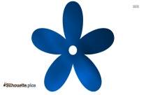 Columbine Flower Symbol Silhouette