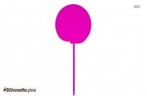 Birthday Lollipops Silhouette