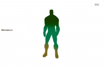 Colossus Character Silhouette Art
